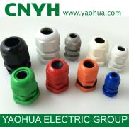Waterproof PG Nylon Cable Gland / Cable Connector Manufacturer