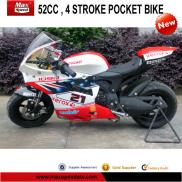 50CC 4 Stroke New  Kids  Pocket  Bike  Manufacturer