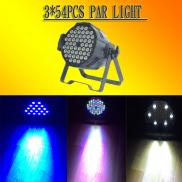 DMX Full Color Stage  Led  Par  Light  /RGBWA 54pc Manufacturer