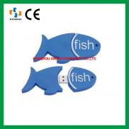 Fish Shape  Usb Flash Drive ,pvc  Usb Flash Drive  Manufacturer