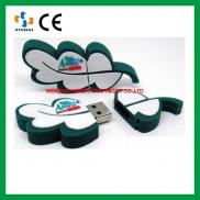 Leaf Shape Customized  Flash Drive Usb ,cheap  Usb Manufacturer