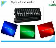 72X1/3w  Rgb Led  Wall Washer/ Color Change  Stage Manufacturer