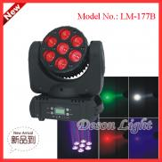 Beam Light10W X 7  Moving Head Led Stage Lights  Manufacturer