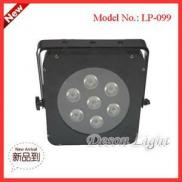 Good Quality Of 7pcs 3W 3in1 Mini Flat  Led  Stage Manufacturer