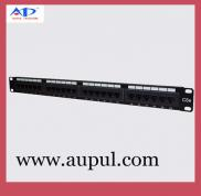 Cat 5e 24 Ports Network Patch Panel Manufacturer