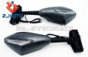 Universal Carbon Integrated Motorcycle Racing Mirr Manufacturer