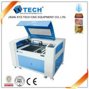 XJ6090 Wood Acrylic  Leather  Co2  Laser Cutting   Manufacturer