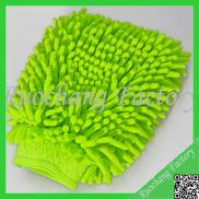 Chenil Double Sided Glass Microfiber Cleaning Glov Manufacturer