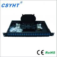 19inch 24 Core Fixed Rack-mount  Fiber Optic Patch Manufacturer