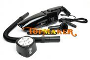 Portable DC12V Power 120W Car Vacuum Cleaner With  Manufacturer