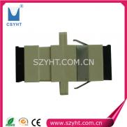 SC Multi Mode Simplex Plastic  Fiber Optical Adapt Manufacturer