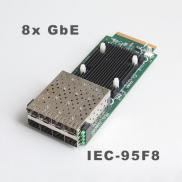 Based On Intel 82580EB GbE Controller Eight SFP Po Manufacturer