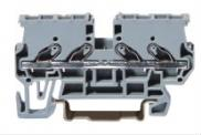 Rail-mounted Terminal Block With Spring-cage Clamp Manufacturer