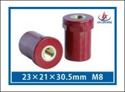 UL Approved Red Electrical Standoff Insulators Manufacturer