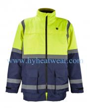 Windproof Thermal Outdoors Heated Jacket Winter Ja Manufacturer