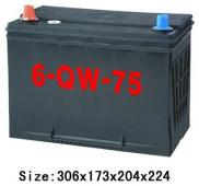 Lead Acid Car DIN Battery Din72MF 12V72AH Manufacturer