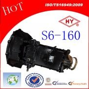 S6-160 Manual  Transmission  Gearbox Assembly For  Manufacturer