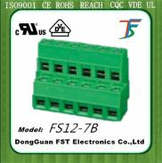 2 Level  Terminal Block  Connector,PCB Screw  Term Manufacturer