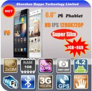 2014 6 Inch  Smart Phone  HD IPS 1280 X 720 RAM 1G Manufacturer
