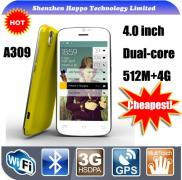 4 Sim  Card  Mobile  Phone  Best Dual Core 4.0inch Manufacturer