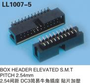 BOX HEADER ELEVATED SMT Type PITCH 2.54MM ELECTRON Manufacturer