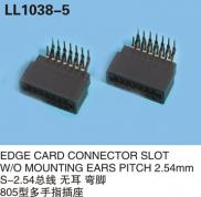 EDGE CARD CONNECTOR SLOT W/O MOUNTING EARS PITCH 2 Manufacturer