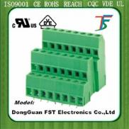 PCB Screw Terminal Block, Connector Triple Level , Manufacturer