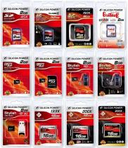 Silicon Power SD Memory Card, SDHC, MicroSD, Micro Manufacturer