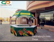 2014 Nature Valley Exhibition Booth Mall Kiosk Out Manufacturer