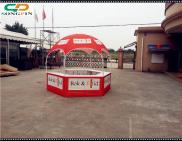 HOT SALE!! Dia 3 Meters Domed Hexagon Tent / Dome  Manufacturer