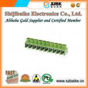 Line Protection Terminal Block AK166 5.0mm PCB Lay Manufacturer