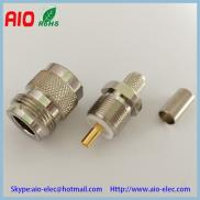 N Female Crimp For RG58 RG59  Coaxial Cable  Manufacturer