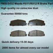 OE Quality MAZDA 323  Brake Pad  D332 Manufacturer