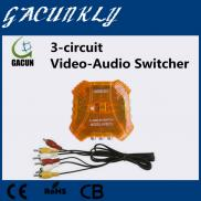 3 Circuit Audio  Switcher  And Free Corresponding  Manufacturer