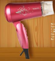 Wall Mounted Foldable Hair Drier Manufacturer