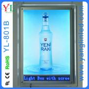 Crystal Light Box With Led Screen Manufacturer