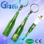 Wine Bottle  LED  Mini  Projector  Keychain Manufacturer