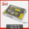 Mini Size 120W 24V Switching Mode Power Supply (SMPS) AC-DC Single Output AS-120-24