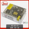 Mini Volume Single Output 60W 15V Switching Power Supply (AS-60-15)