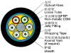 Outdoor  No-Metallic  Fiber Optic Cable  (GYFTY) Manufacturer