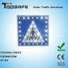 Aluminum Flashing Solar LED Traffic Pedestrain Sig Manufacturer