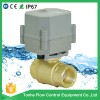 Tonhe 2 way 3/4'' DN 20 AC230V brass ball mini motorized ball Valve