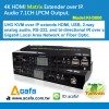 4K HDMI Video Matrix Extender over IP.-Support tou Manufacturer
