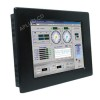 10.4'' Industrial Monitor with Resistive Touch Screen,Panel Mount with Aluminum Bezel,Svga