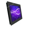 22'' Panel Mount, Wall Mount Industrial LCD Display with IR Dual Touch Screen,IP65/NEMA 4X Aluminum Front Bezel