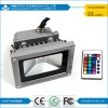 DC12 Volt Solar LED Flood Light RGB 10W with CE,RoHS