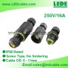 IP68 Waterproof In-Line Cable Connector Manufacturer