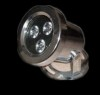 Stainless Steel  LED Underwater Light  3W  Manufacturer
