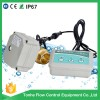water leaking detection system with electric motorized valve