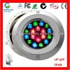 LED Tech Stainless Steel Swimming Pool Light 54W H Manufacturer